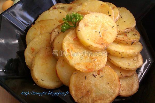 香煎迷迭香马铃薯的做法