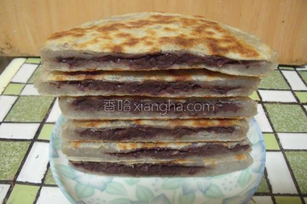红豆煎饼的做法