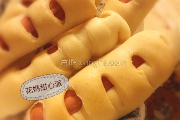 巧口热狗面包的做法