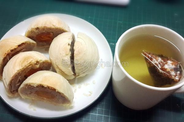 咸蛋芋泥酥的做法
