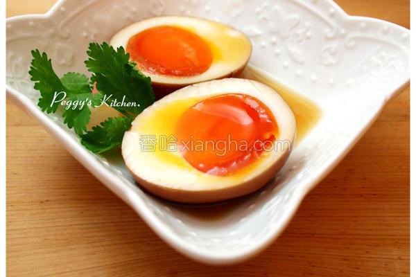 红玉红茶溏心蛋的做法