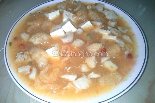 软Q麻婆豆腐