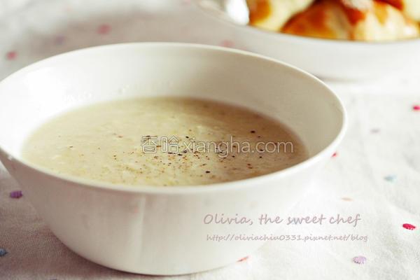 马铃薯玉米浓汤的做法