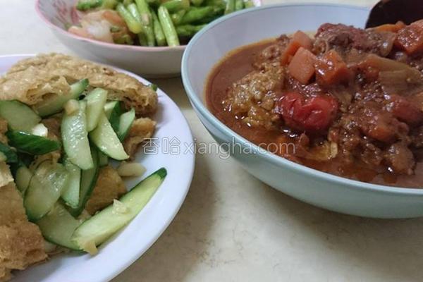 茄汁肉丸的做法