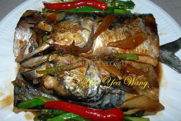 葱烧鲭鱼的做法
