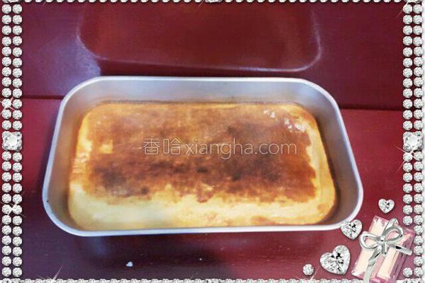 红豆烤米布丁的做法