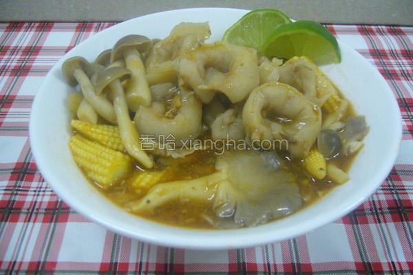 泰式酸辣鱼饺汤的做法
