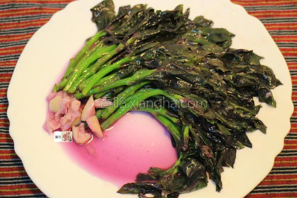 麻油红凤菜的做法
