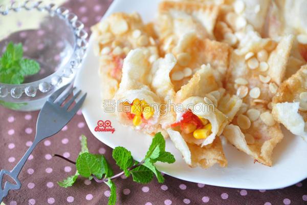杏仁香酥玉米派的做法