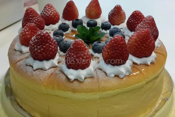 轻乳酪草莓蛋糕的做法