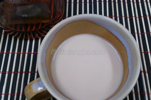 姜汁奶茶的做法
