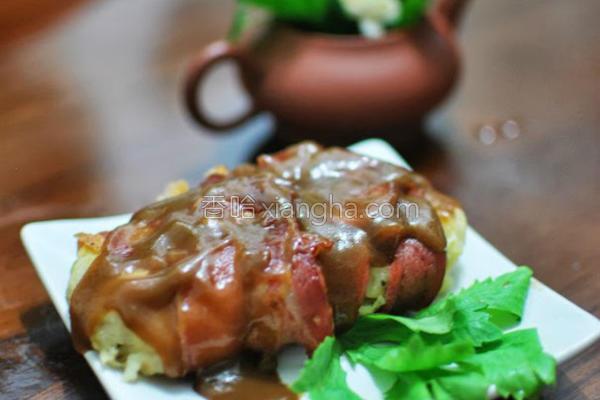 餐桌仿冒脆皮烤肉的做法