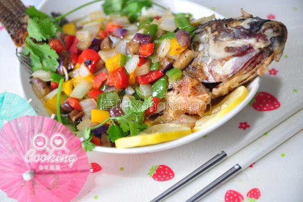 五彩糖醋鱼的做法