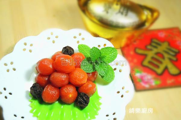 桂花话梅腌渍番茄的做法