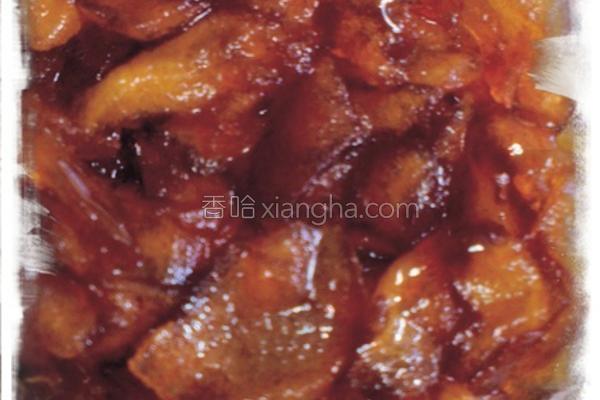 黑糖肉桂苹果酱的做法