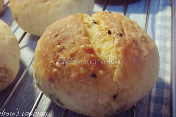 黄金芝麻面包球