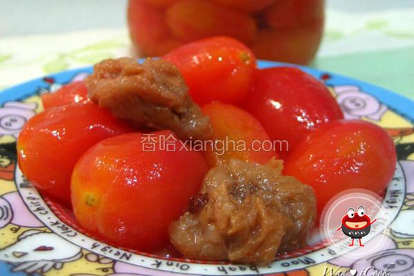 冰酿梅渍小番茄
