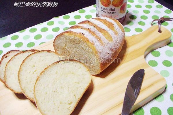 乡村面包的做法