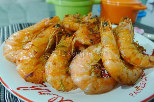 香料白虾的做法