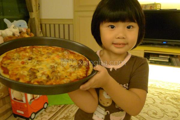意式披萨的做法