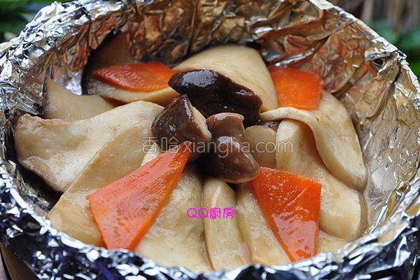 芝麻酱香杏鲍菇的做法