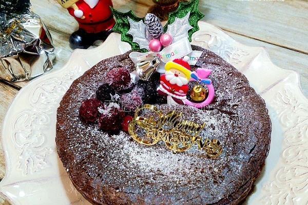 超浓巧克力蛋糕的做法
