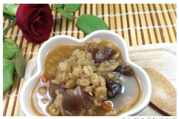 暖胃麦角粥的做法