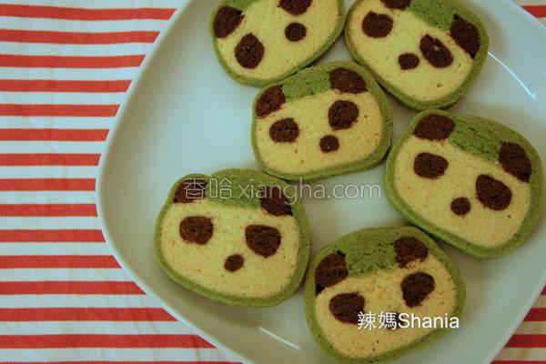 超可爱猫熊饼干的做法