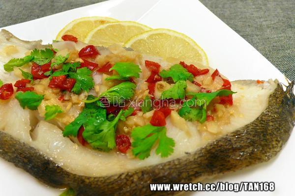 柠檬辣蒸鳕鱼的做法