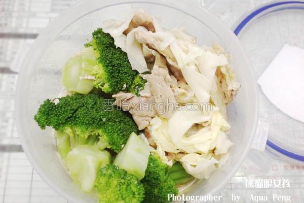 翠绿花椰菜的做法