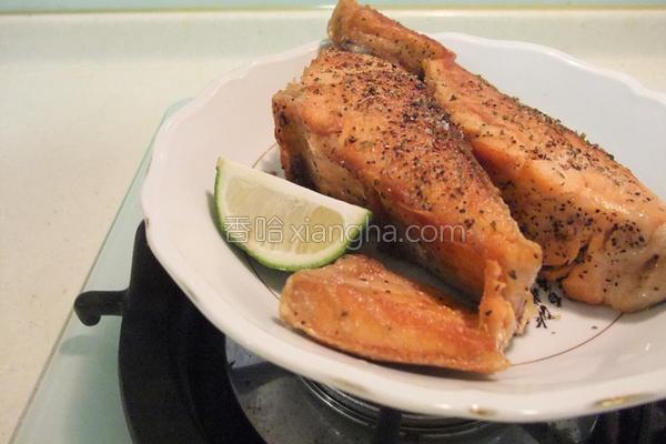 意大利香煎鲑鱼的做法