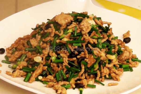 豆油伯黑豆豉食谱的做法