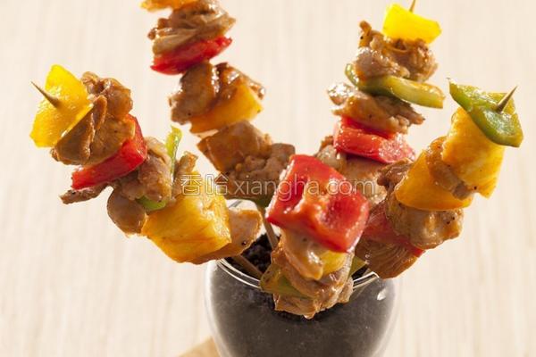 泰式烤鸡肉串的做法