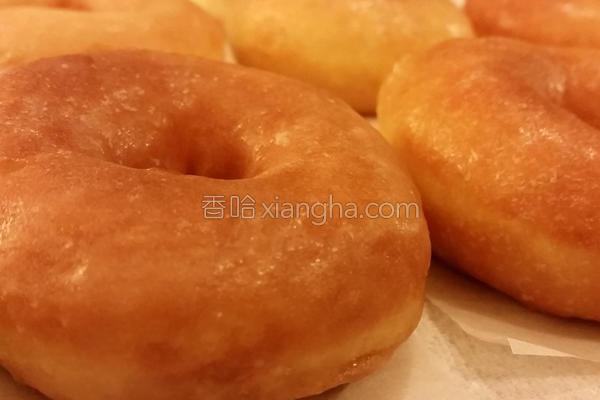 糖霜甜甜圈的做法