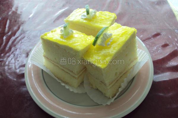 柠檬慕斯蛋糕的做法