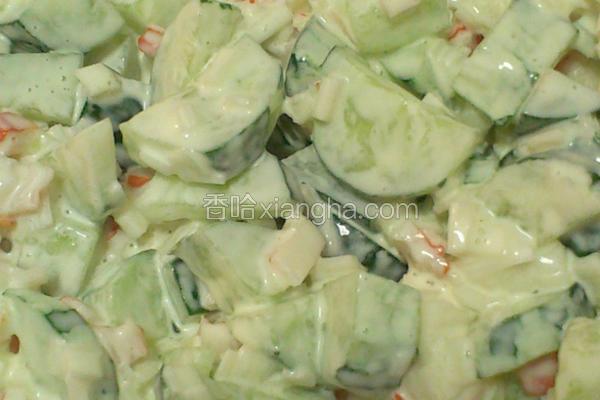 十分钟蟹肉沙拉