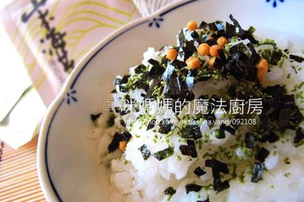 海苔甘松茶泡饭的做法