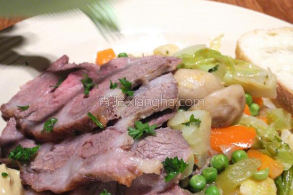 蔬菜炖猪肉的做法