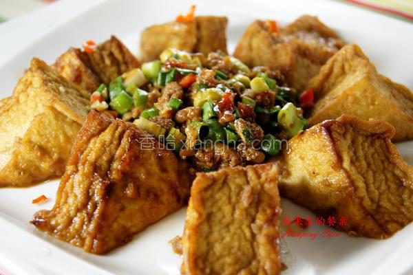 三角豆腐的做法