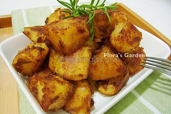 咖哩土豆块的做法