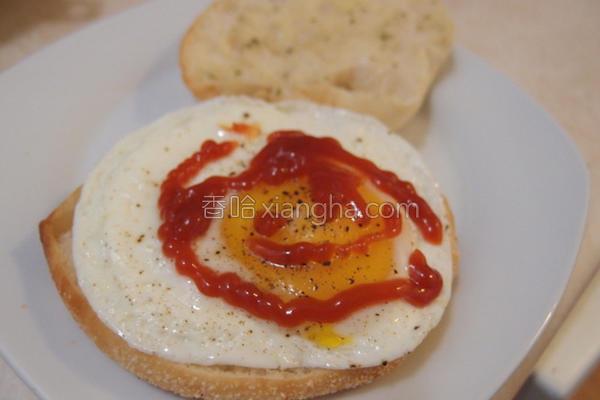 创意三明治的做法