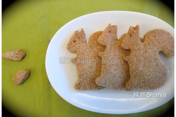 全麦枫糖饼干的做法