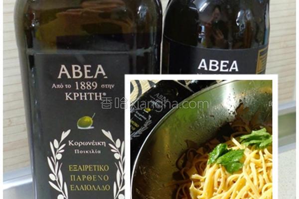 橄榄油意大利面的做法