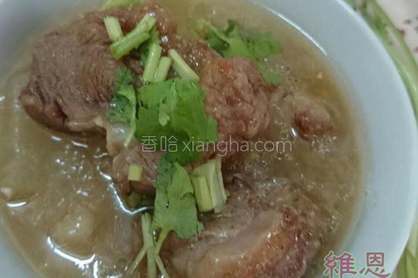 冬瓜排骨酥汤的做法
