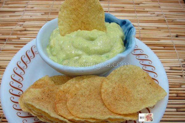 酪梨沙拉酱的做法