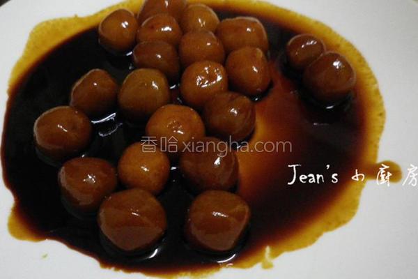 酱油糯米丸的做法