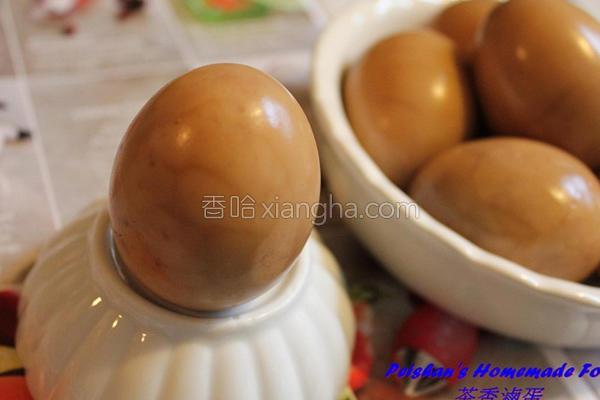 茶香卤蛋的做法