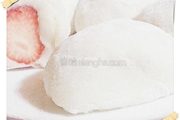奶香绿豆仁馅的做法