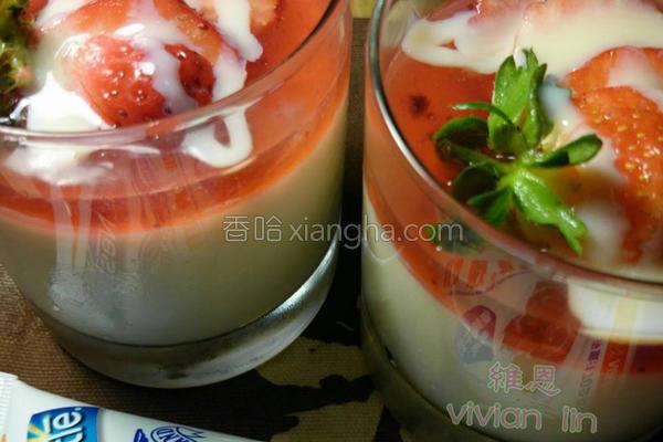 意式草莓奶酪的做法