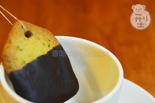 茶包饼干的做法